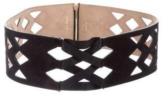 Jimmy Choo Laser Cut Waist Belt