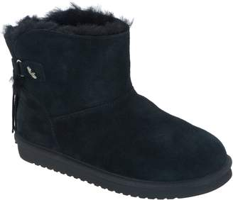 Koolaburra By Ugg by UGG Suede Tassel Mini Boots - Jaelyn