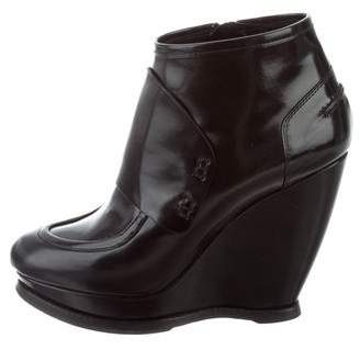 Balenciaga Platform Wedge Booties