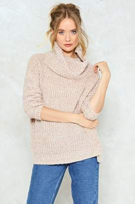 Nasty Gal What Knit Takes Turtleneck Sweater