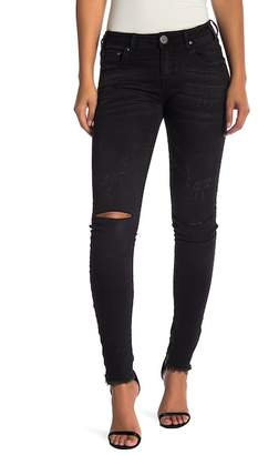 One Teaspoon Hoodlums Distressed Skinny Jeans