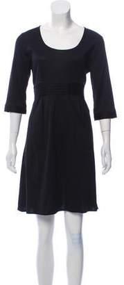 Burberry Long Sleeve Knit Dress