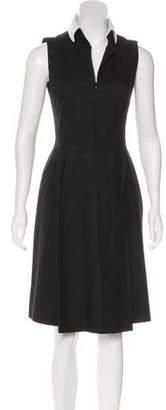 Akris Sleeveless A-Line Dress
