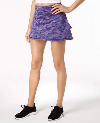 Ideology Space-Dyed Tennis Skort, Created for Macy's