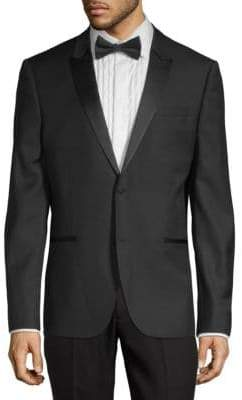 The Kooples Classic Wool Tuxedo Jacket