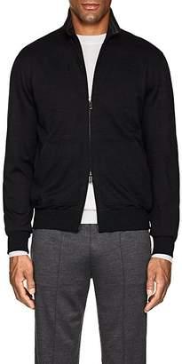 Ermenegildo Zegna Men's Wool-Blend Track Jacket