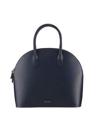 Mansur Gavriel Rounded Leather Top-Handle Bag