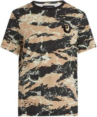 True Religion Camouflage-print cotton T-shirt