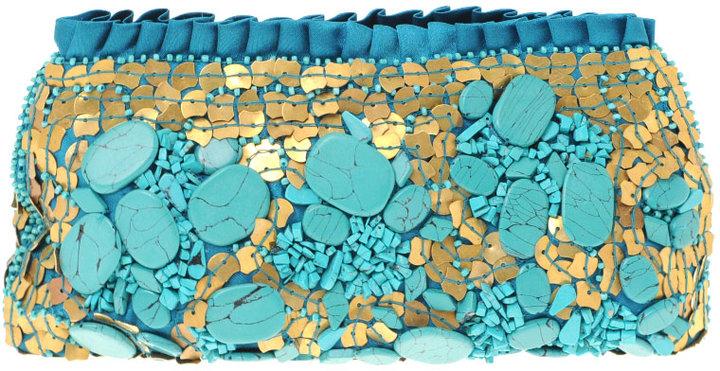 ASOS Premium Embellished Gemstone Clutch