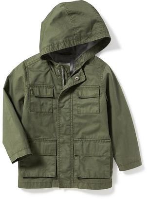 Hooded Twill Utility Jacket for Toddler Boys $29.94 thestylecure.com