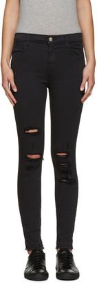 J Brand Black High-Rise Alana Jeans $200 thestylecure.com