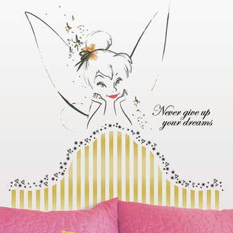 Tinkerbell Room Mates Popular Characters Disney Fairies Headboard Giant Wall Decal