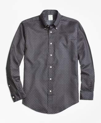 Brooks Brothers Milano Fit Printed Multi-Paisley Sport Shirt