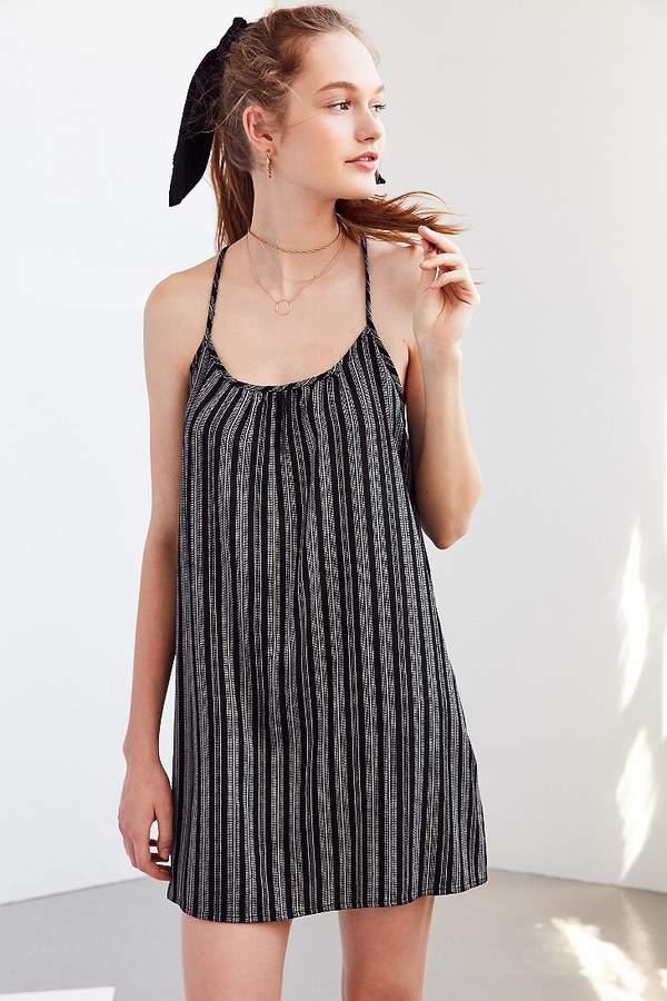 BDG Charlotte Yarn Dyed Striped Slip Dress