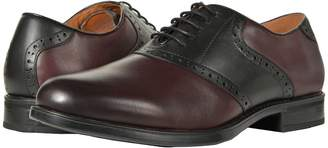 Florsheim Midtown Saddle Oxford Men's Lace Up Wing Tip Shoes
