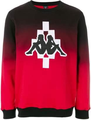 Marcelo Burlon County of Milan Kappa logo sweatshirt