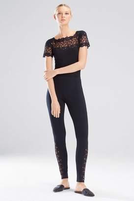 Josie Natori Element Short Sleeve Bodysuit