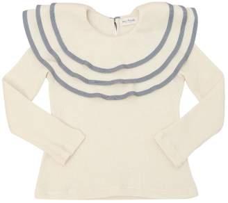 Cotton Rib Jersey Top
