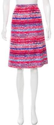 Tory Burch Printed Pencil Skirt w/ Tags