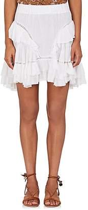 Etoile Isabel Marant Women's Varese Cotton-Blend Miniskirt