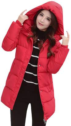 Wicky LS Young Ladies' Hooded Dnow Winter Coat Slim Fit S