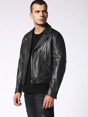 Diesel Leather jackets 0EAQU - Black - S
