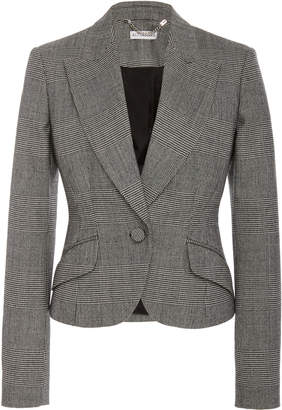 Altuzarra Kershaw Plaid Wool-Blend Blazer