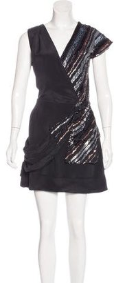 Marc by Marc Jacobs Sequined Silk Dress