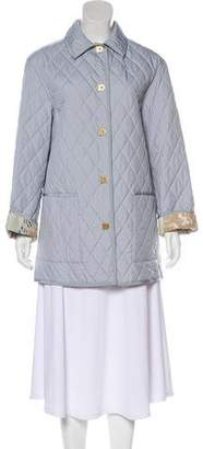 Salvatore Ferragamo Quilted Puffer Coat