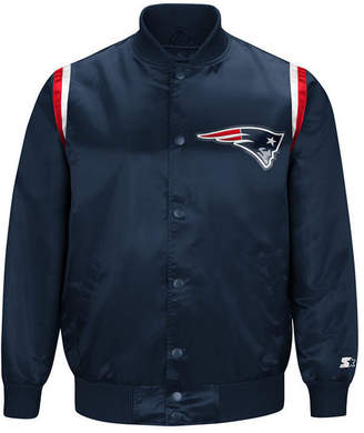 Starter Men's New England Patriots Hat Trick Varsity Jacket