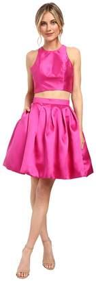 Faviana Mikado Two-Piece w/ Contrast Lining 7858 Women's Dress