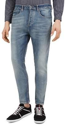 The Kooples Zipper Slim Fit Jeans in Light Blue