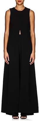Lisa Perry Women's Crepe Cape Dress - Black
