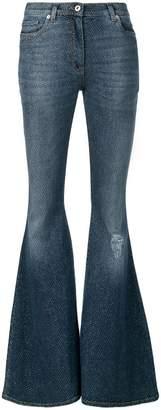 Faith Connexion sparkly flared jeans