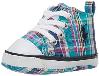 Ralph Lauren Layette Harbour Hi Crib Shoe (Infant/Toddler)