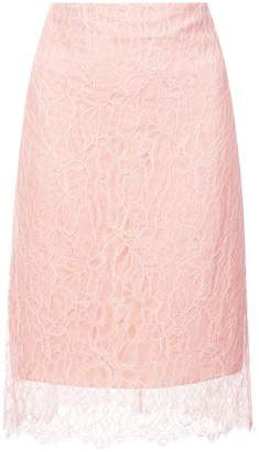 Nina Ricci lace midi skirt