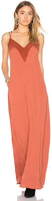 House of Harlow 1960 x REVOLVE Michelle Maxi in Rust $190 thestylecure.com