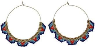 LeJu London - Hoop Earrings in Bright Colors