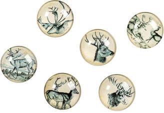 Ragon House Collection Deer Decorative Balls