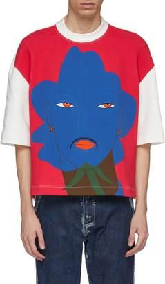 eb216f3bd Most Wanted Design by Carlos Souza Pronounce Floral man graphic print  colourblock T-shirt