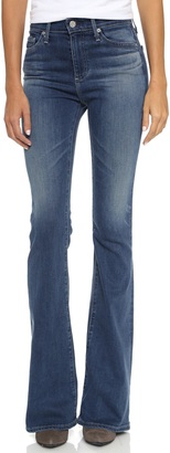 AG The Janis Flare Jeans $235 thestylecure.com