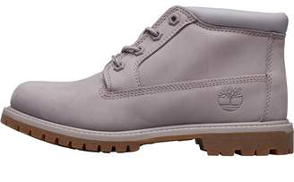 Timberland Womens Nellie Double Chukka Boots Gull Grey