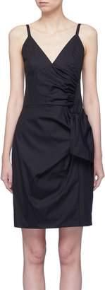 Victoria Beckham VICTORIA, Sash drape mini dress