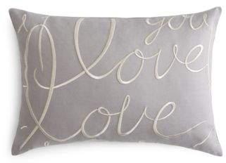 Matouk Love Decorative Pillow, 15 x 21