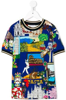 Dolce & Gabbana Tour of Italy T-shirt