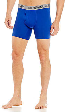 """Under Armour Charged Cotton Stretch 6"""" Boxerjocks 3-Pack"""