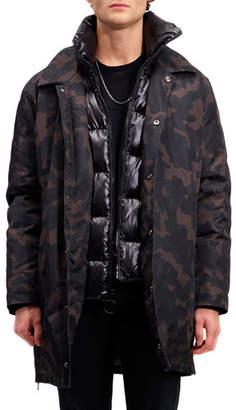 The Very Warm Men's Garvey Down-Filled Water-Resistant Jacket