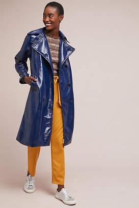 Rachel Antonoff Jane Patent Trench Coat