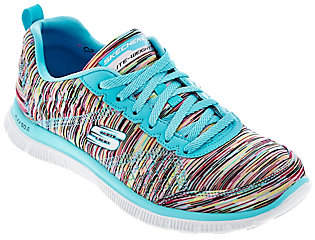 Skechers Space-dyed Sneakers with Memory Foam -Whirl Wind