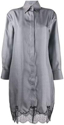 Fendi long-sleeved shirt dress